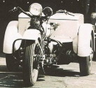 Original 1960's Photograph Of EOPD Traffic Motorcycle