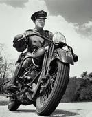 1940's Police Motorcycle