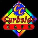 Curbside Cafe Famous Hot Dogs Logo