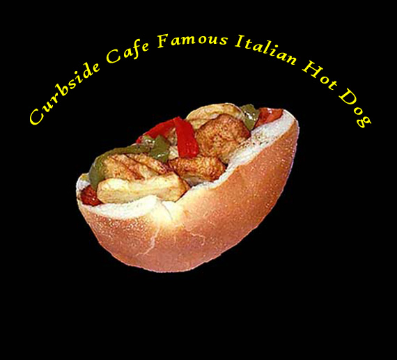 Curbside Safe Famous Italian Hot Dog
