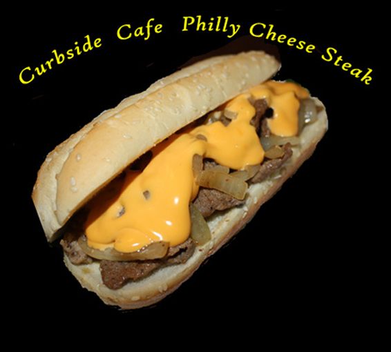 Curbside Cafe Famous Philly Cheese Steak