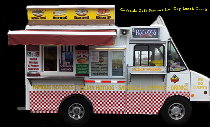 Curbside Cafe Famous Hot Dog Lunch Truck