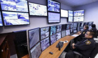 East Orange Police Camera Surveillance Monitoring Room