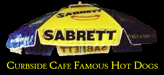 Famous Sabrett Umbrella At Cubside Cafe